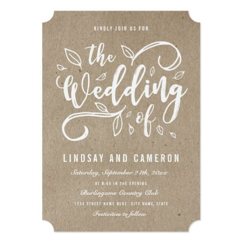 , craft paper wedding invitations, kraft paper wedding invitation envelopes, kraft paper wedding invitation template, invitation samples