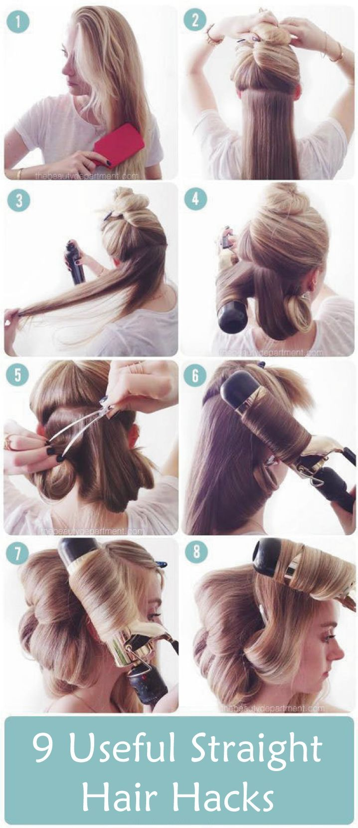 Hair care Tips : Having nice and straight hair? Need tips and tricks here we come with a  9 usef