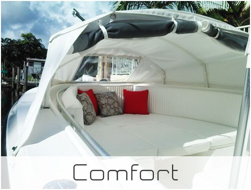 Prefab Instant Cabin | Bimini Boat Tops | Marine Canopy - The Element®