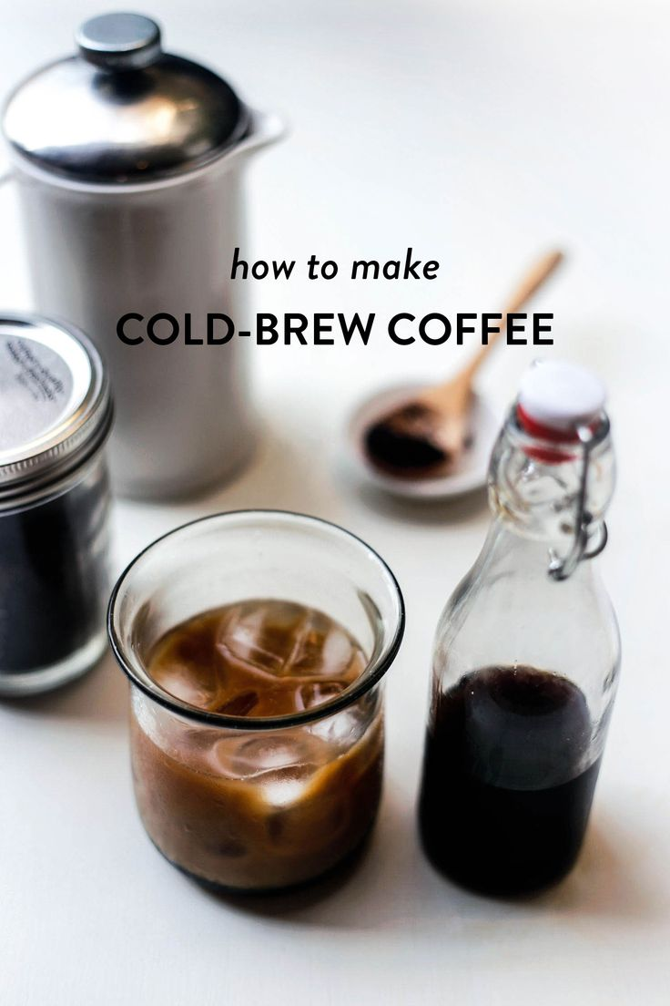 No more standing in lines at the cafe. No more over-priced coffees. Your homemade cold-brew will make the best iced-coffee that you've ever had! I'm telling you, it's perfection. Fans of cold-brew...