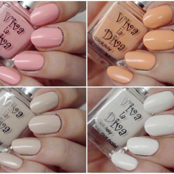 Viva la Diva Matte Nails by @drommelakken Paint your nails with creamy matte this summer! Will make your tan look even nicer! @vivaladivacosmetics #mattenails #nailpolish #pastell #soft #summer #makeup #nailart
