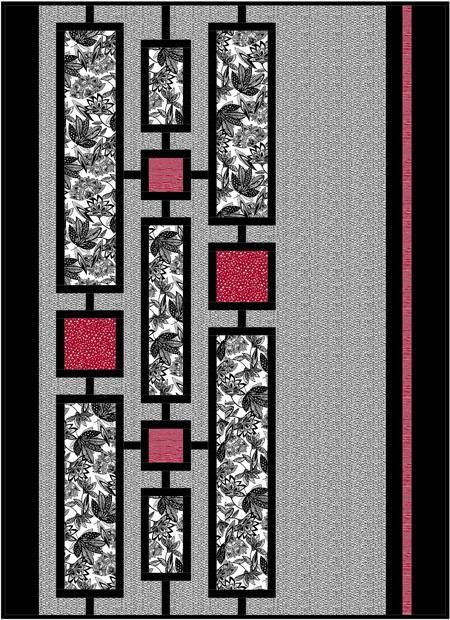 (7) Name: 'Quilting : Zentangled Garden: A Modern Quilt Design