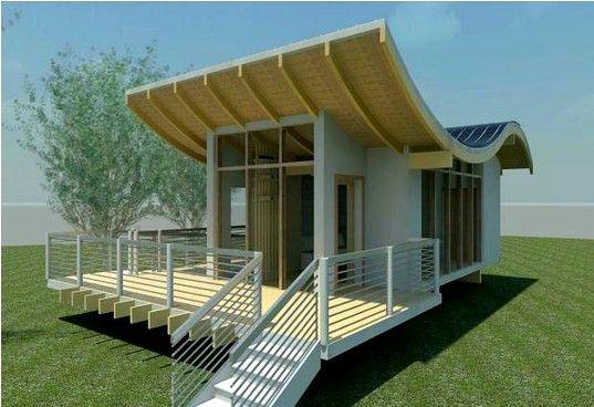 dream art studio.: Green Home, Art Studios, Tiny Houses, Dreams Art, Backyard Studios, Small Houses, Modern Home, Design Layout, Houses Design