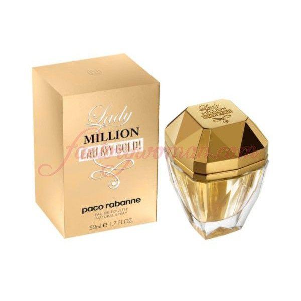 PACO RABANNE LADY MILLION EAU MY GOLD! EAU DE TOILETTE 50ML VAPO.