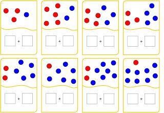 Lernstübchen: Zahlzerlegung und Plusaufgabe
