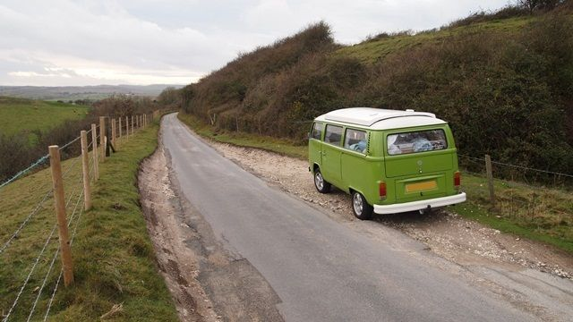 I want!: Isles Of Wight, Campers Vans, Beauty View, Vintage Cars, Open Roads, Westies Wonderland, Landscapes Nature, T2 Campers, Mobiles Camping