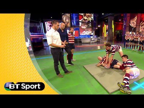 Pitch Demo: Sam Warburton breakdown masterclass | Rugby Tonight - YouTube
