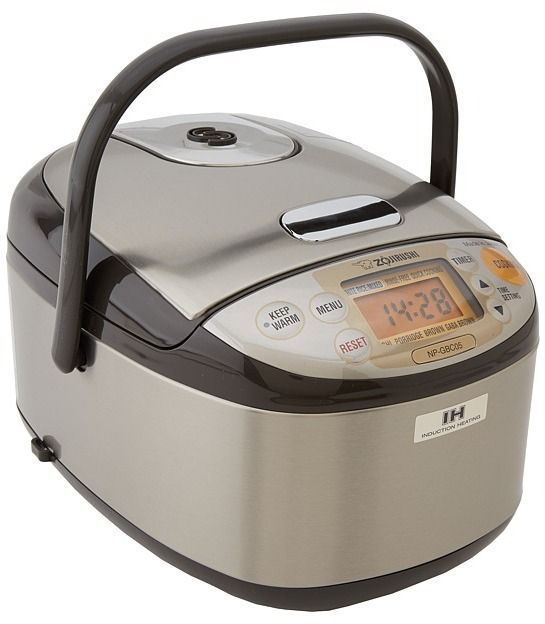 Zojirushi NP-GBC05 Induction Heating 3 Cup Rice Cooker & Warmer on shopstyle.com