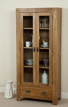 Quercus Solid Oak Glazed Dresser