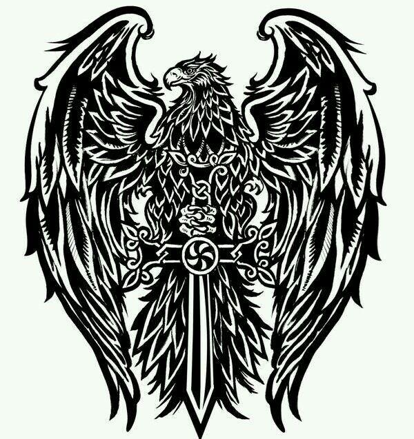 Орел на кресте картинки