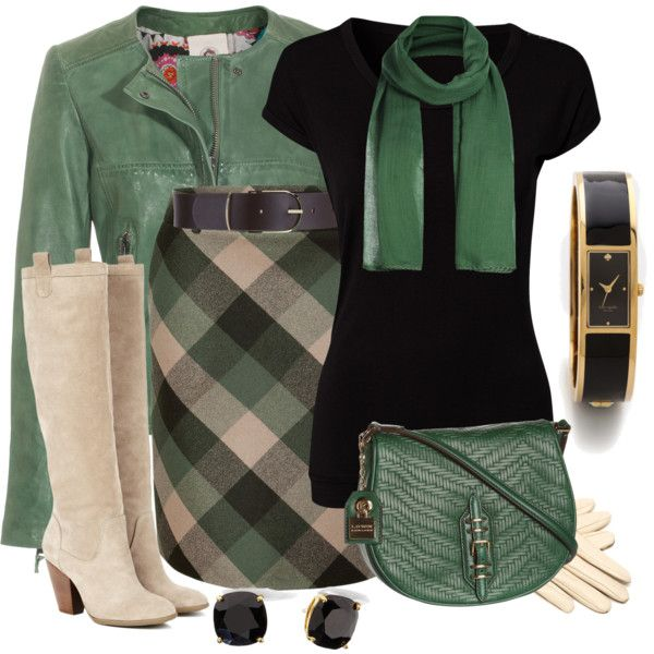 A fashion look from September 2013 featuring Pure Lime t-shirts, Unfleur jackets and Salvatore Ferragamo skirts. Browse and shop related looks.