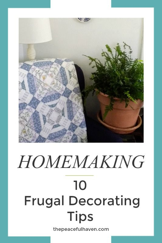 Save Money with these CHARMING Frugal Decorating Tips!  #farmhousestyle #frugal #homedecor #savemoney #homedec #frugaltips #homemaking