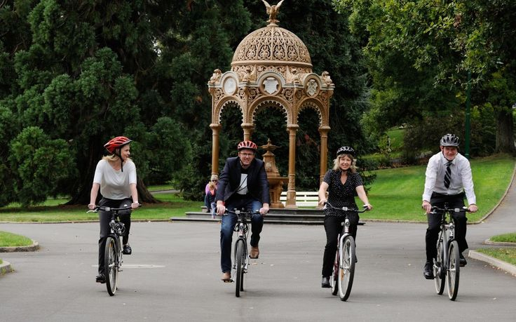 ARTBIKES in Launceston's City Park. Launceston has a vibrant artistic culture, cycle friendly terrain and a dynamic city life and now you can grab an ARTBIKE and cycle your way around the city's creative hubs.