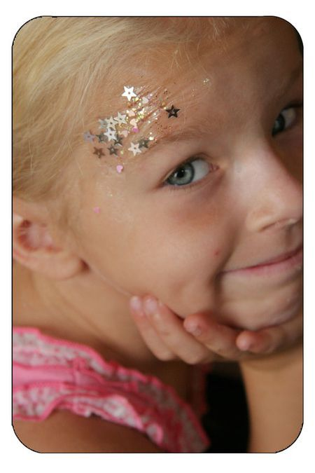 sequins on the face! Love that.: Fairies Ideas, The Face, Parties Ideas
