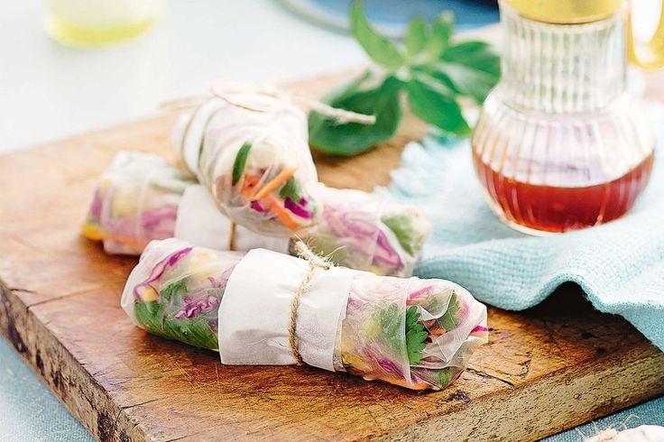 Healthy summer 'chiko' rolls that are weeknight worthy - Recipes - delicious.com.au