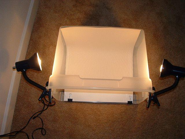 best light box DIY idea ever!