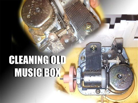 I needed music for one of my latest time-lapses, and decided to get the tune from my old music box I recently found again while digging though the shed. The problem is, it sounded terrible; so we rip it apart to give it a cleaning before recording it.