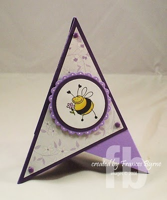 pyramid card by Frances Byrme. Check out the you tube (www.youtube.com/...) by thenorsugirl