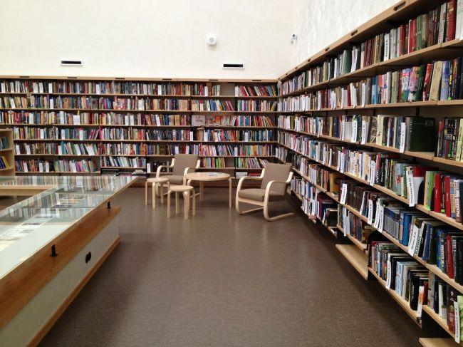 Библиотека Аалто в Выборге. Читальный зал. Фотография © «ДНК аг»