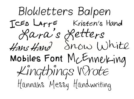 Hannahs Messy Handwriting
