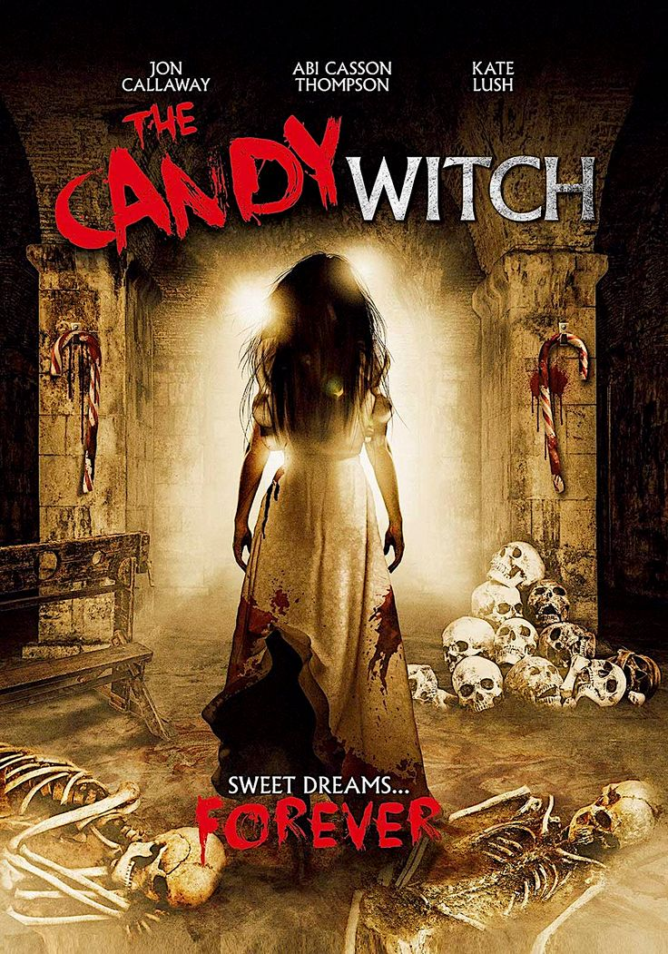 THE CANDY WITCH DVD (UNCORK'D ENTERTAINMENT) in 2020