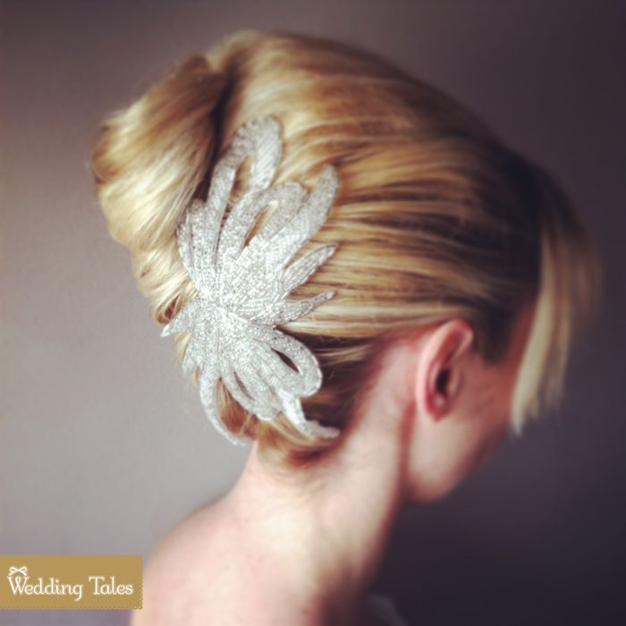 How about a chic and classy hair do? Blow Out Sales Event by @Elite Events Athens - Wedding Planning  Find more here http://www.weddingtales.gr/index.php?id=1372