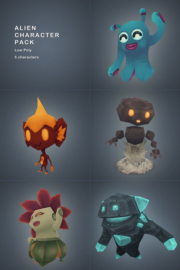 low poly character | Free Low Poly Character Model » Dondrup.com