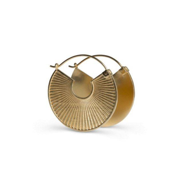 Plissé Earrings by Jane Koenig