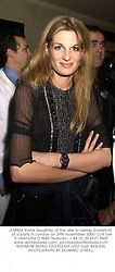 JEMIMA KHAN daughter of the late Sir James Goldsmith, at a party in London on 29th November 2000.OJR 164