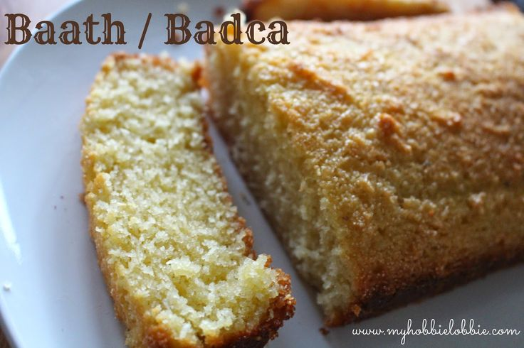 Baath / Badca - Traditional Goan Coconut Cake ... Kuswar / Christmas platter