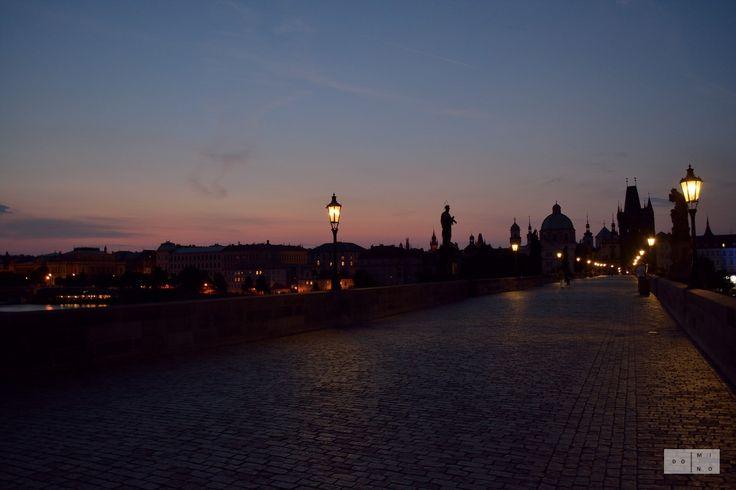 Treading the cobbled streets - Charles Bridge in Prague