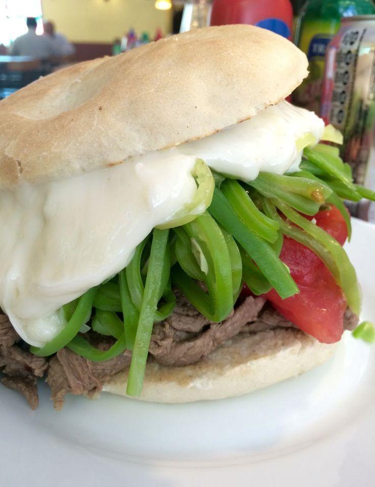 Sandwich chileno Chacarero