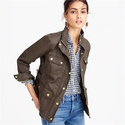 The downtown field jacket : trenches & anoraks | J.Crew