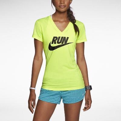 Nike Legend Run Swoosh Women's Running Shirt. $28. Buying this for my half marathon!!