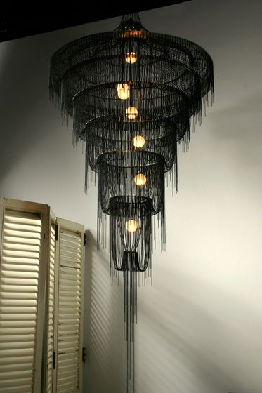 Lighting Design by Droplet Art Chandeliers of Willowlamp