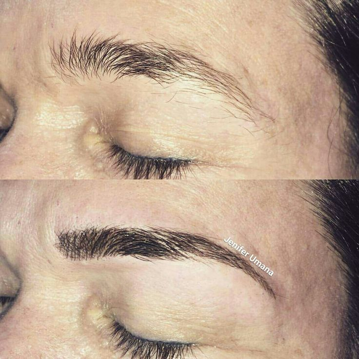 Microblading brows by jenifer uma a timeless beauty for St george utah tattoo