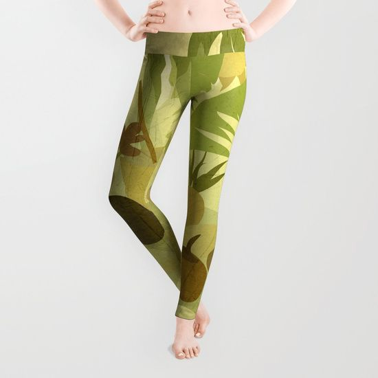 Tropical Vibes 1 Leggings