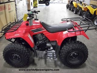 2008 KAWASAKI BAYOU 250, 250 CC 5 SPEED READY TO RIDE!  #USED #ATV