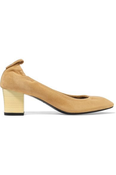 Lanvin - Suede Pumps - Sand - IT