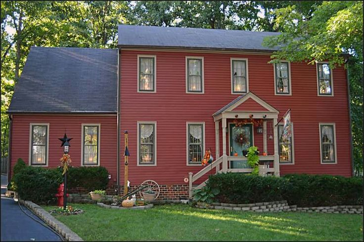 542 Best Saltbox & Colonial Houses Images On Pinterest