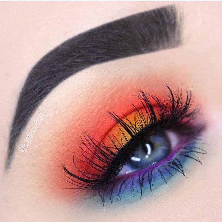 Der Lidschatten des Sonnenuntergangs ist auf Instagram – pünktlich zum Sommer – Makeup