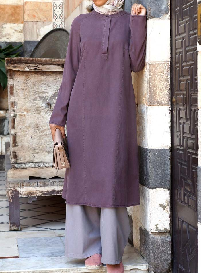 SHUKR USA | Felicity Tencel and Cotton Tunic