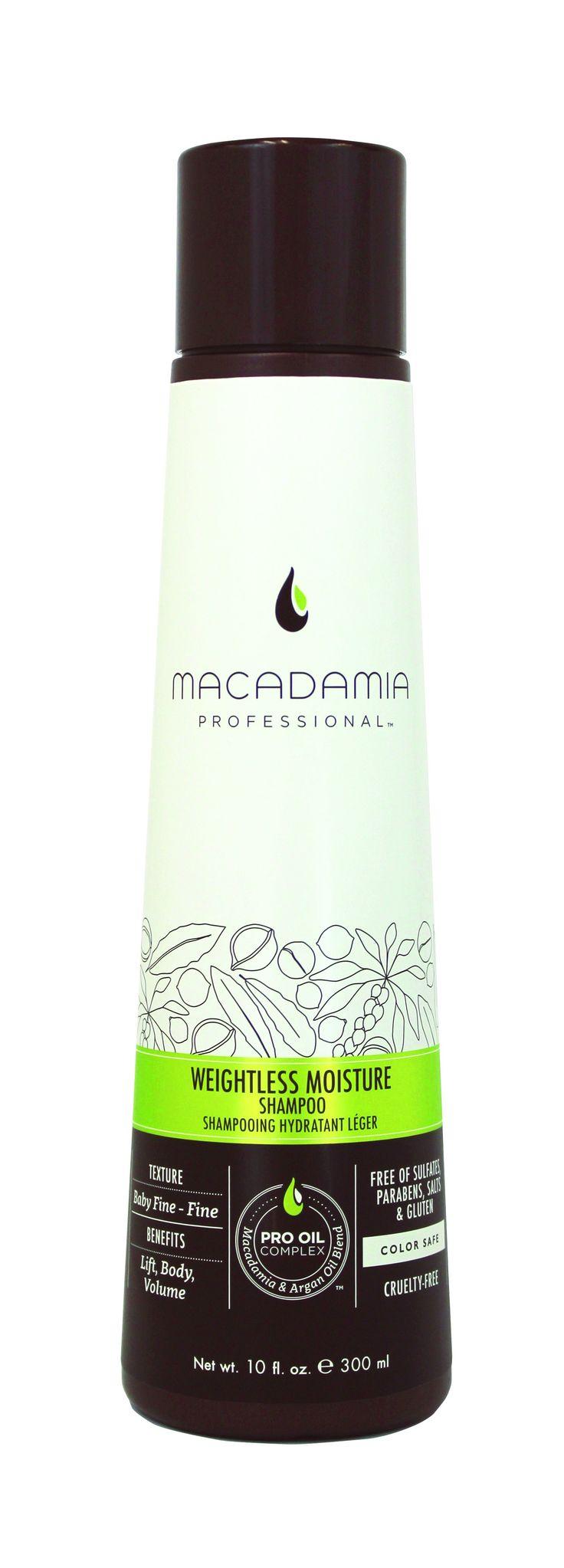 Macadamia Professional Weightless Moisture Shampoo 300ml.
