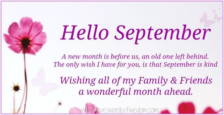 43 best images about * Hello September! !¡ on Pinterest  Hello september ima...