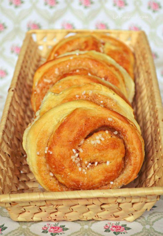 brioche svedesi alla cannella #dolci #dessert