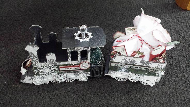 Christmas Train Kit designed by Jo Johnson for Imagine If