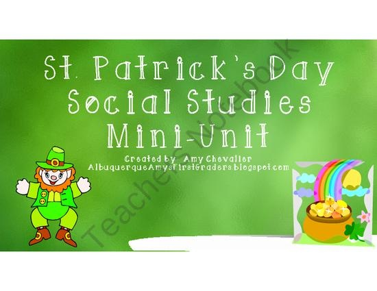 1000 Images About Teach Social Studies With Me On: 1000+ Images About St. Patrick's Day Teaching Resources On
