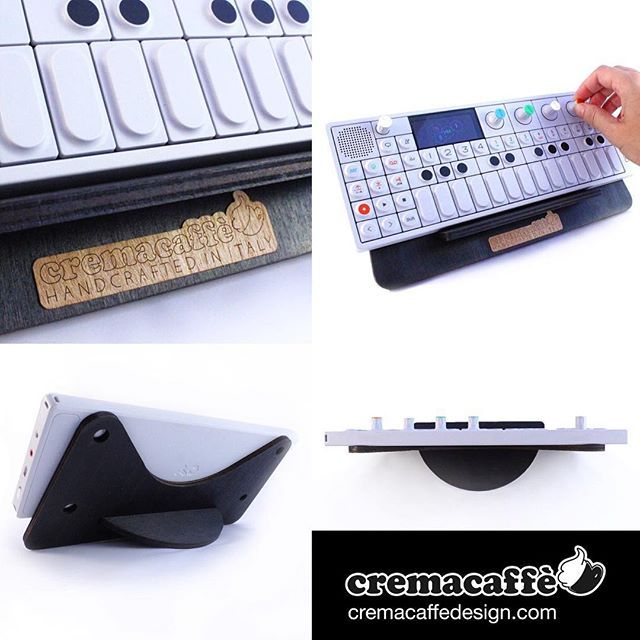 *** Update: OP-Bunny in black now available! *** http://cremacaffedesign.com  #Cremacaffedesign #OPBunny #OP1 #teenageengineering #synth #tabletop #display #stand #musicgear #homestudio #cool #design #stylish #homedecor #music #sampler #musician #DJ #Producer #lightWeight #minimal #solid #simple #handcraft #natural #madeinitaly #electronicmusic #electronic #showoff #studio