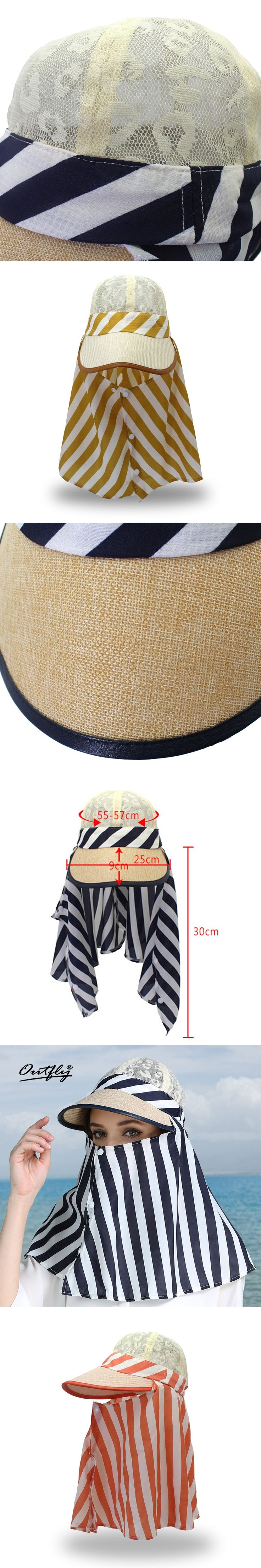 Women Uv Protection Hat lace multifunction Fishing Cap Neck Flap Face Shield Summer Sunshade Protection Sun Hat qf12
