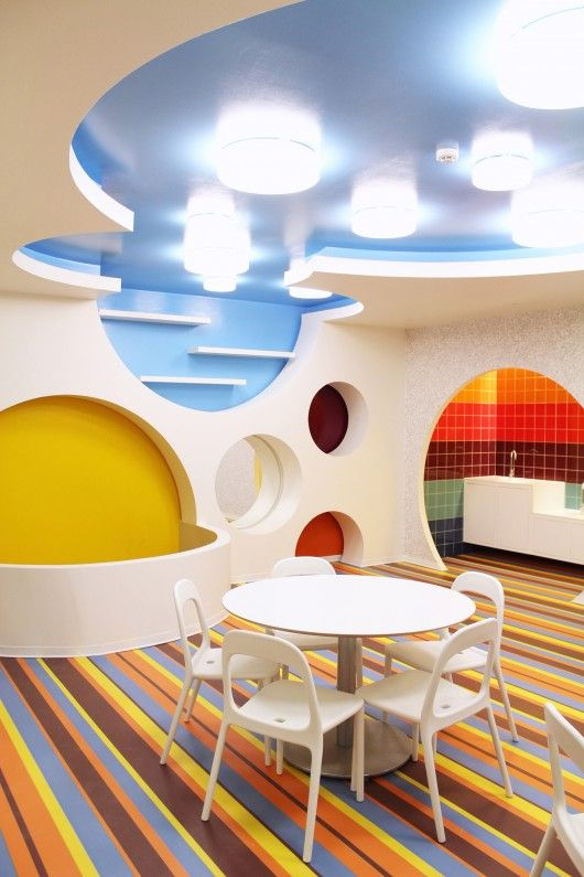 #healthcare Playrooms  Children Hospital Courtesy of estúdio AMATAM, #Healthcare